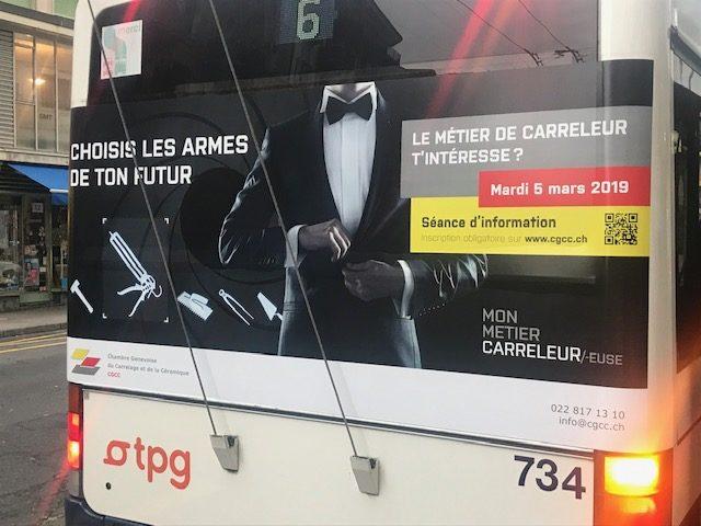 Notre Bus pour le recrutement circule !